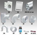 Installationsmaterialien Rohre und Formstücke