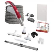 Retraflex Aan-Uit met Ontvanger, Slangbeschermer en accessoires